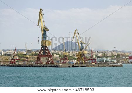 Harbor of Iraklion