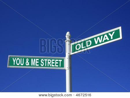 Together Street Sign