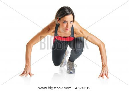 A Female Athlete