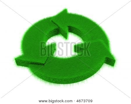 Grass Recycle Logo