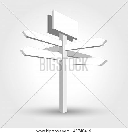 abstract waymark