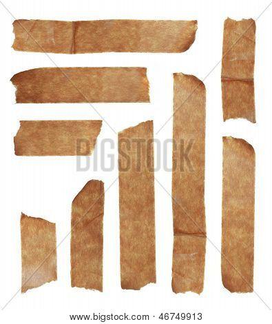 Strips Of Masking Old Tape