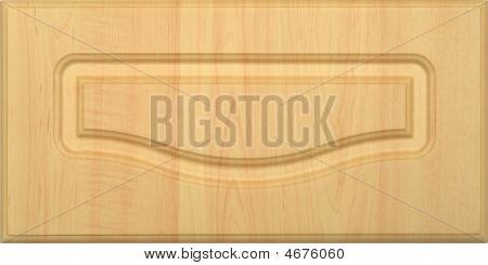 Wide Wooden Frame