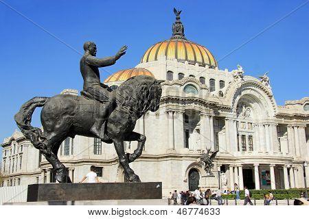 Palacio De Bellas Artes, Mexico City.
