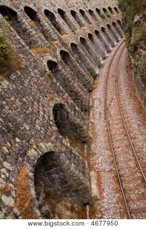 Narrow Rail On Corsica