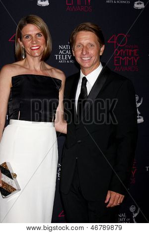 LOS ANGELES - JUN 14:  Colleen Bell, Brad Bell attends the 2013 Daytime Creative Emmys  at the Bonaventure Hotel on June 14, 2013 in Los Angeles, CA