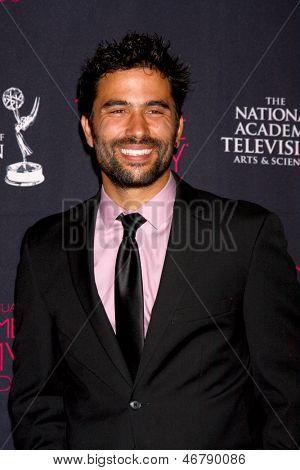 LOS ANGELES - JUN 14:  Ignacio Serricchio attends the 2013 Daytime Creative Emmys  at the Bonaventure Hotel on June 14, 2013 in Los Angeles, CA
