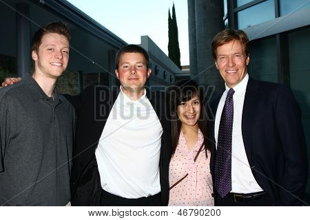 LOS ANGELES - JUN 15:  Harrison Wagner, Peter Wagner, Peter's Guest, Jack Wagner attend The Leukemia & Lymphoma Society 2013  Gala at the Skirball Cultural Center on June 15, 2013 in Los Angeles, CA