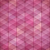 Abstract triangles vintage vector pink background. This is file of EPS10 format. poster