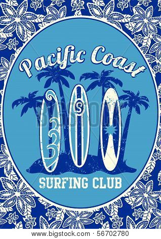 Pacific Coast surfing club.