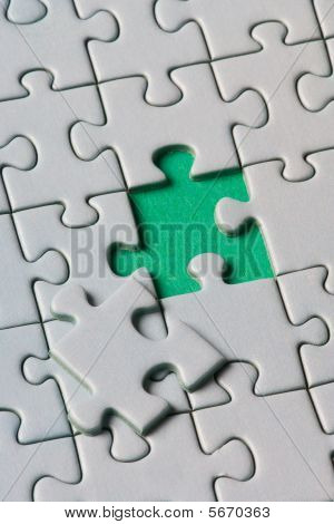 Missing jigsaw piece