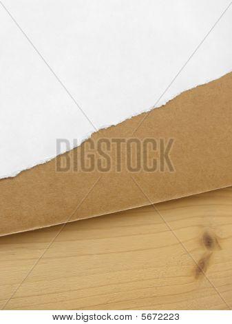 Wood, Cardboard, Paper