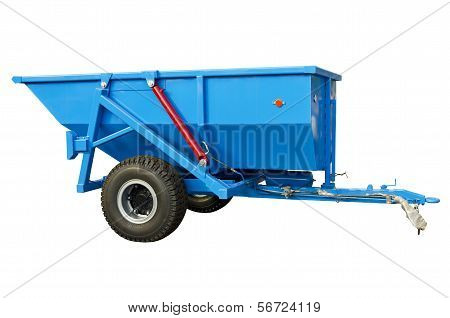 Trailed spreader fertilizer