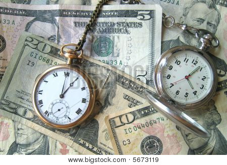 Pocketwatches on Cash