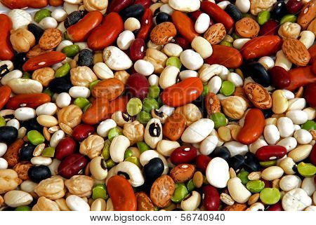 assorted beans