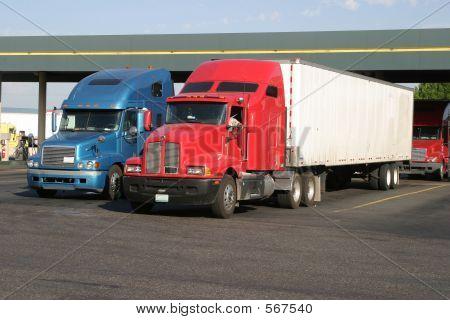 Truckstop Fuel Station