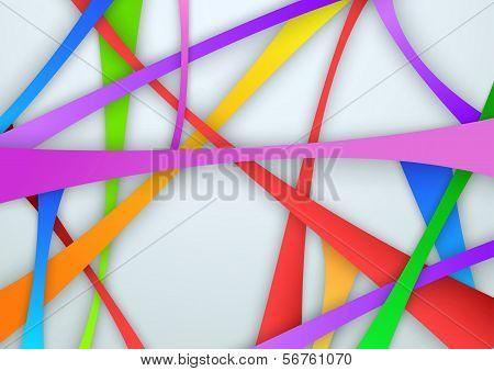 Colorful Swooshy Bridges