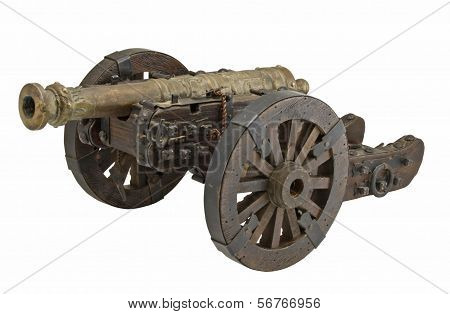 Antique cannon.