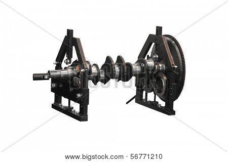 balancing machine with a cardan shaft