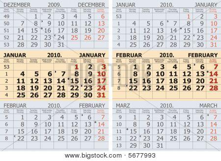 January - February