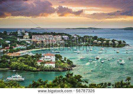 Cruz Bay, St John, United States Virgin Islands.