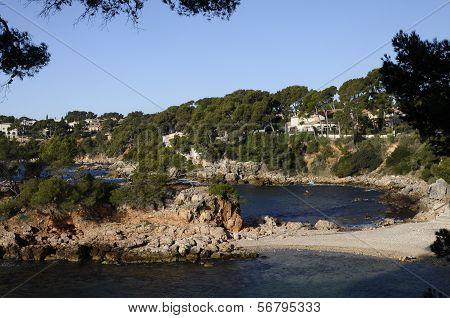 Sea And Coast In Bandol, France