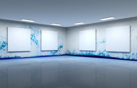 Art gallery clear space
