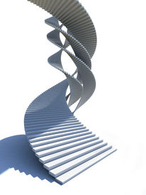 Design based on staircase swirling