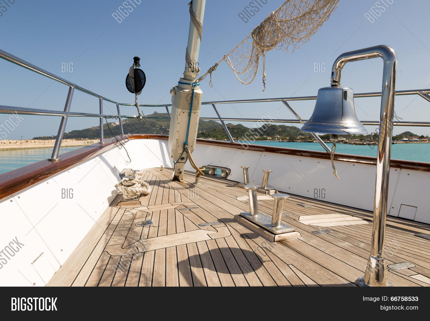 Luxury Sail Boat Parts Image & Photo (Free Trial) | Bigstock