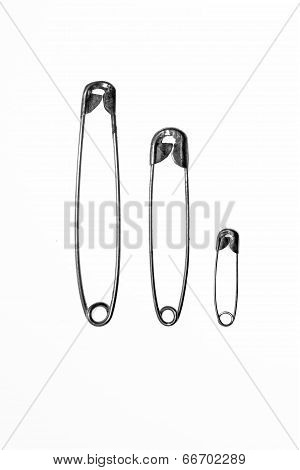 Birth Announcement Using Safety Pins