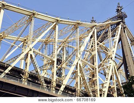 59th Street Bridge (Queensboro Bridge) and East River, New York City