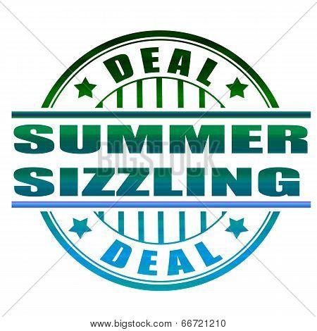 Summer Sizzling Stamp