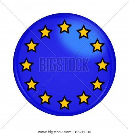 Euro Union Button