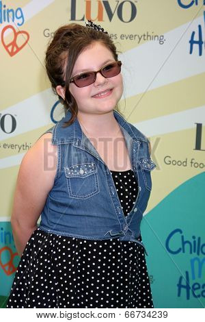 LOS ANGELES - JUN 14:  Marlowe Peyton at the Children Mending Hearts 6th Annual Fundraiser at Private Estate on June 14, 2014 in Beverly Hills, CA
