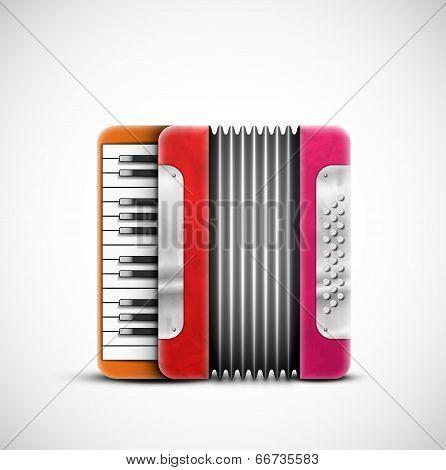 Colorful Accordion