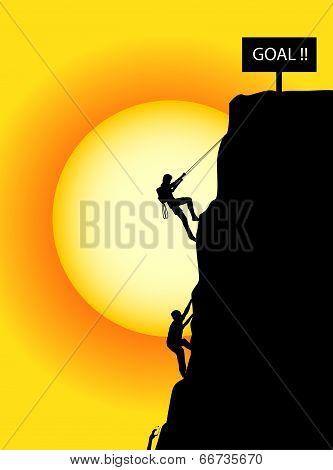 Climbing To The Goal