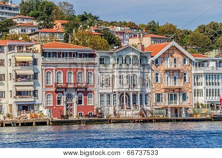 Yenikoy Istanbul coastal