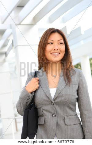 Cute Asian Professional Woman