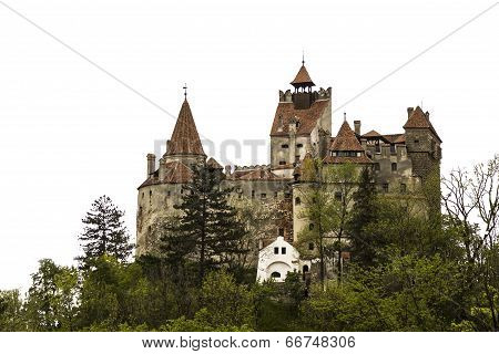Dracula's Castle isolated