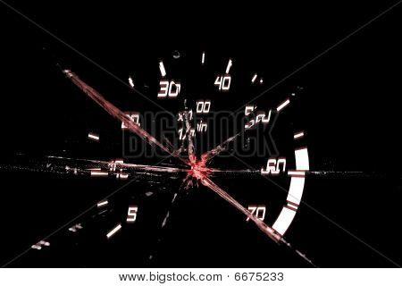 Damaged Odometer