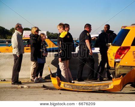 Taxi Auto accident