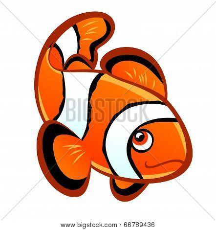 Cartoon Clownfish