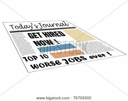Top ten worse jobs