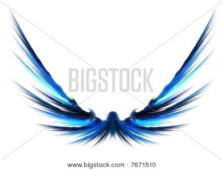 Abstract Fractal Wings