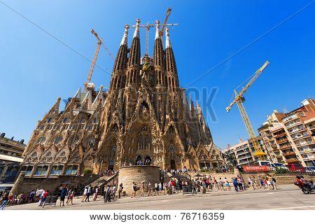 Sagrada Familia - Barcelona Spain