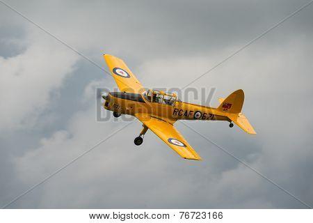 Vintage 1946 British De Havilland Chipmunk T.22