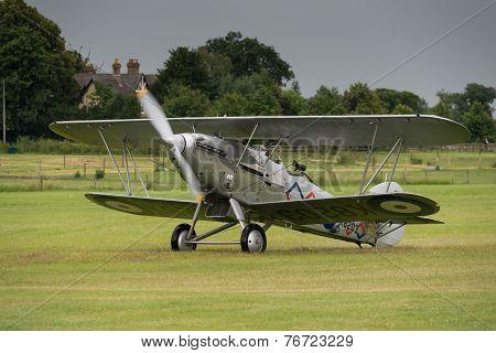 Vintage Hawker Demon Bi-plane