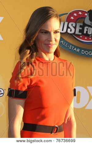 LOS ANGELES - NOV 22:  Hilary Swank at the FOX's