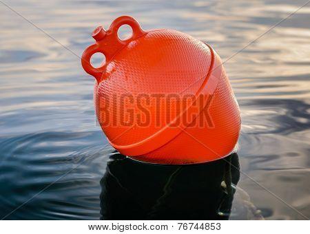 Orange Boat Buoy