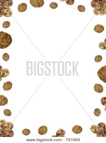 Choc chip cookie border